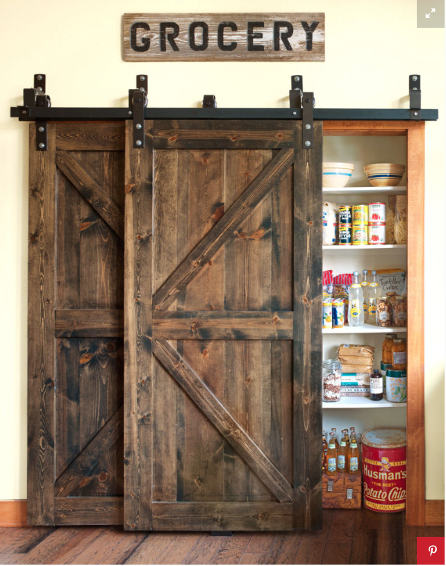 The Sliding Barn Doors I Dream About Putting Them Everywhere Love Look Of This Pantry Lglimitlessdesign Contest