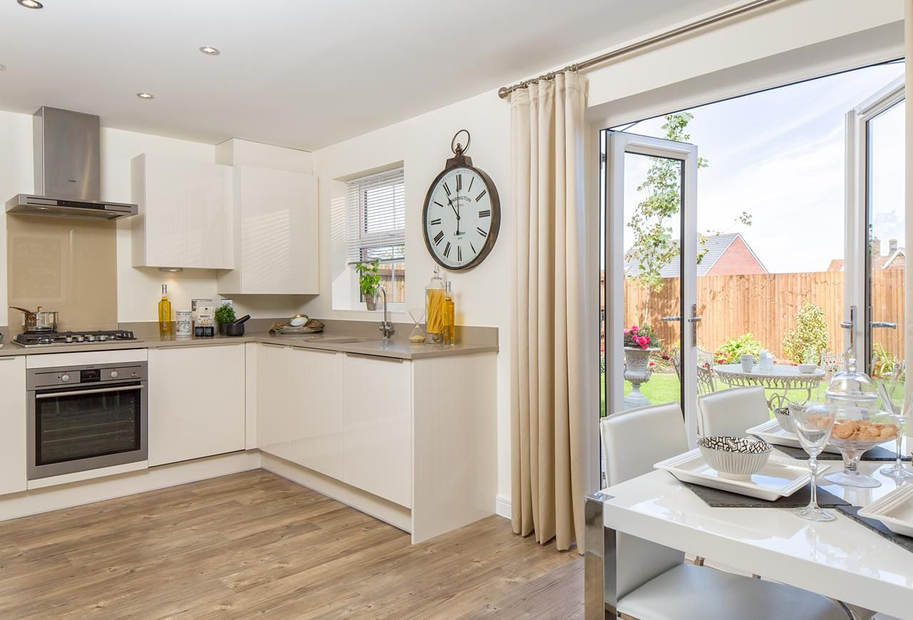 David Wilson Homes   Layton At The Chestnuts, Barkby Road, Syston,  Leicester. The Rest Of The House Rocks, I Included The Kitchen Because I  Love Tu2026