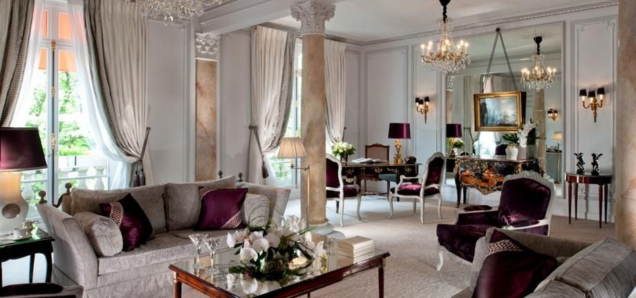 luxury hotel rooms; suites paris | 5 star hotel rooms & suites