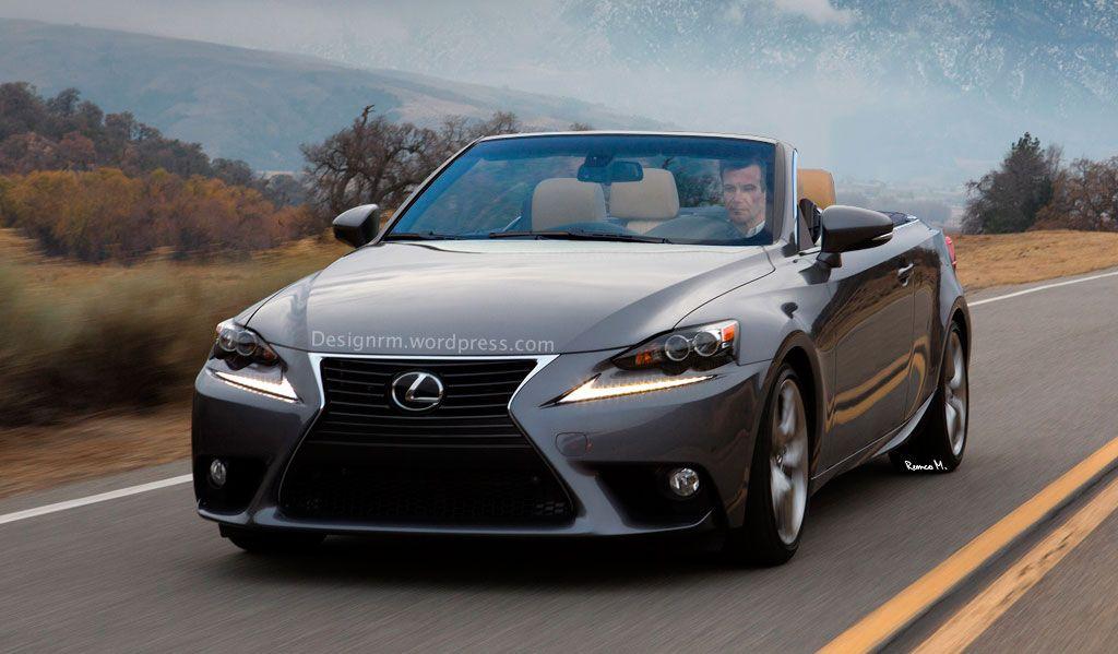 Next Generation Lexus Is Convertible Realistically Imagined Lexus Convertible Lexus Convertible