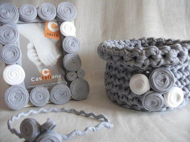 Como hacer muchas cosas de trapillo o crochet xxl te - Como hacer trapillo ...