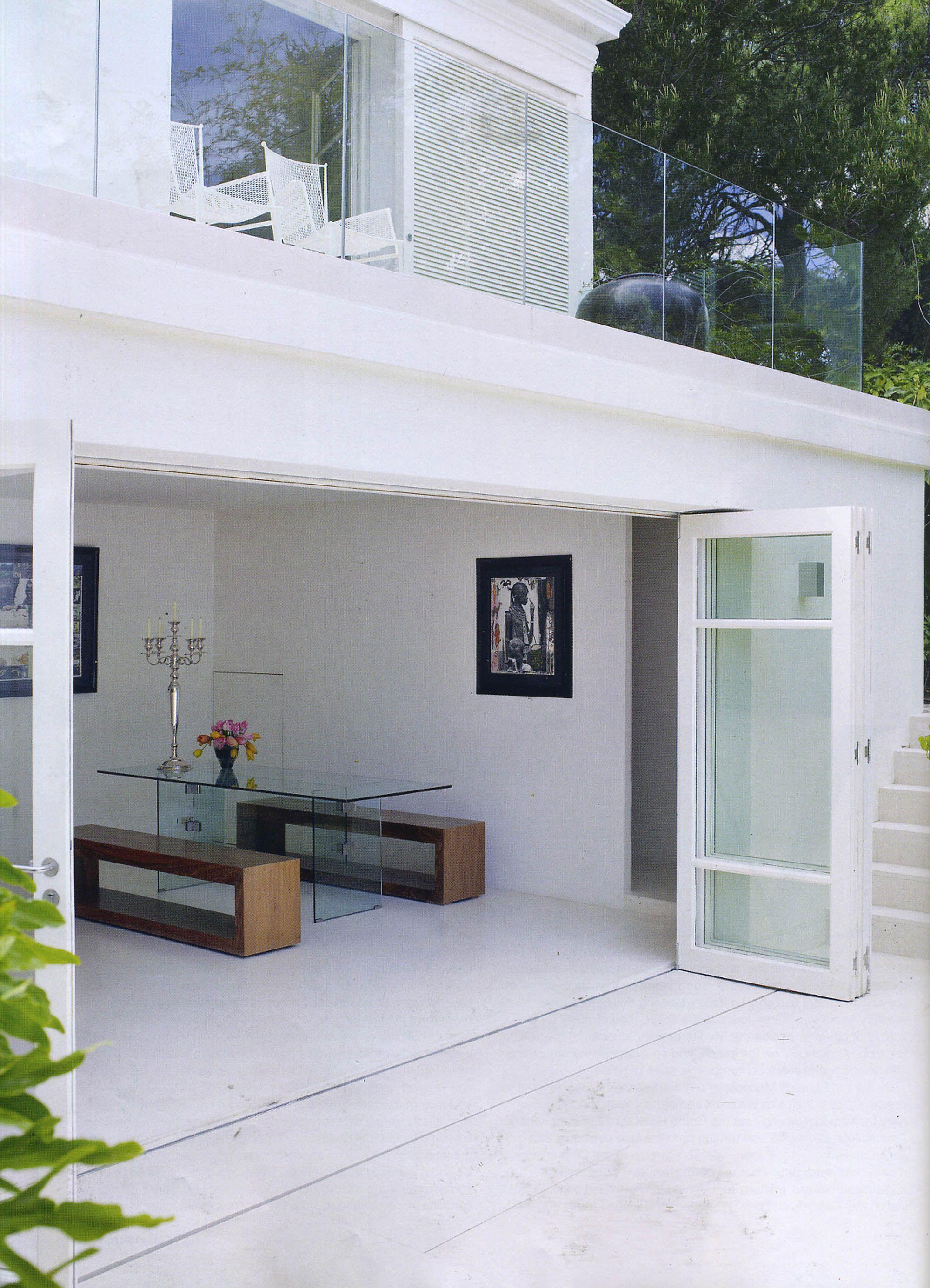John Rocha\'s Cote d\'Azur home, Elle Decoration, August 2008 ...