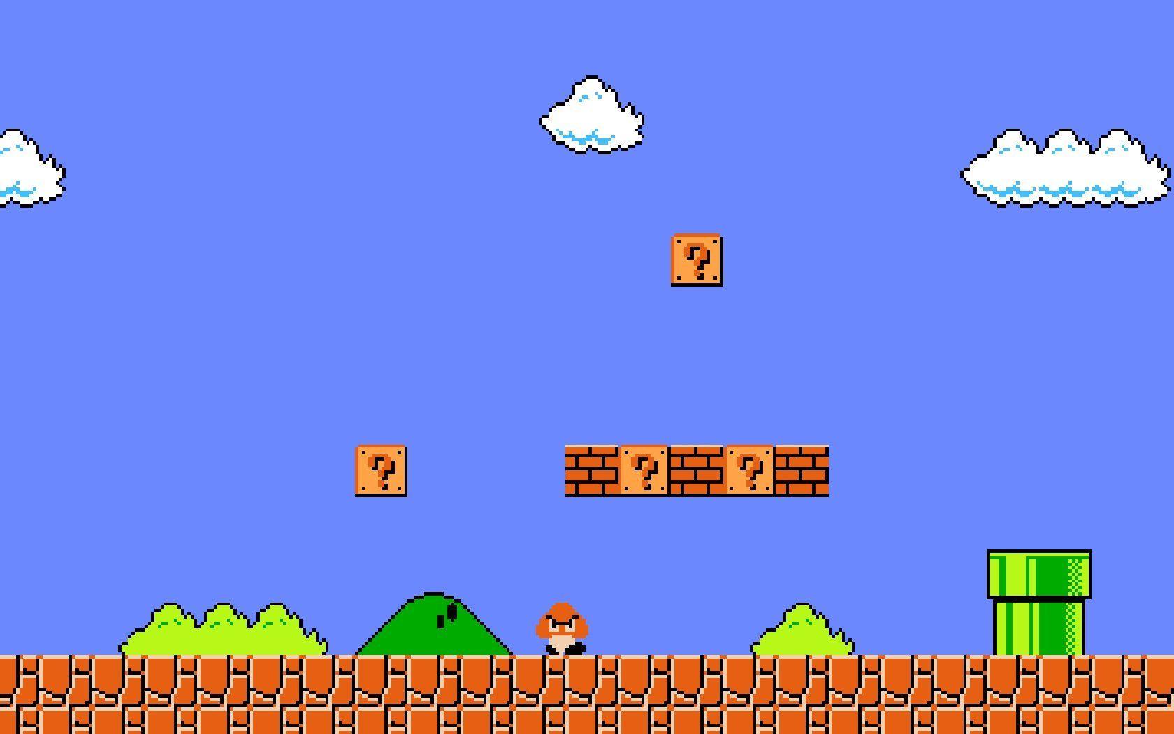 Super Mario Bros Screenshots Nes Google Search Mario Mario