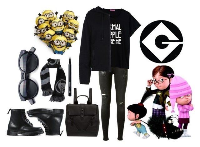 """""""Despicable Me"""" by clocloshow2 ❤ liked on Polyvore featuring rag & bone, STELLA McCARTNEY, Kenzo, Dr. Martens, Bobbi Brown Cosmetics, women's clothing, women, female, woman and misses"""