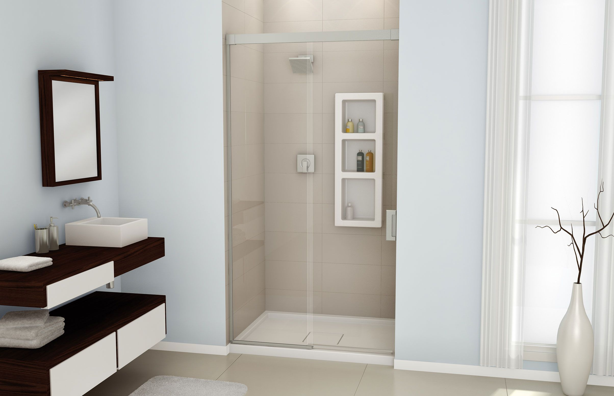 Evidence 4836 A Glass enclosures or Alcove shower - Advanta by MAAX ...