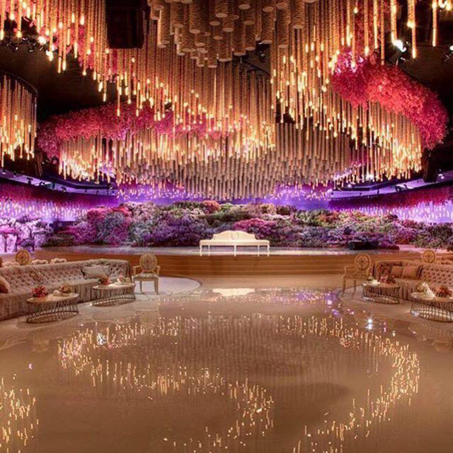 Billion Dollar Wedding Said Gutseriev And Khadija Uzhakhovs Spent 1billion On Their In 2020 Extravagant Wedding Wedding Stage Decorations Floral Wedding Decorations