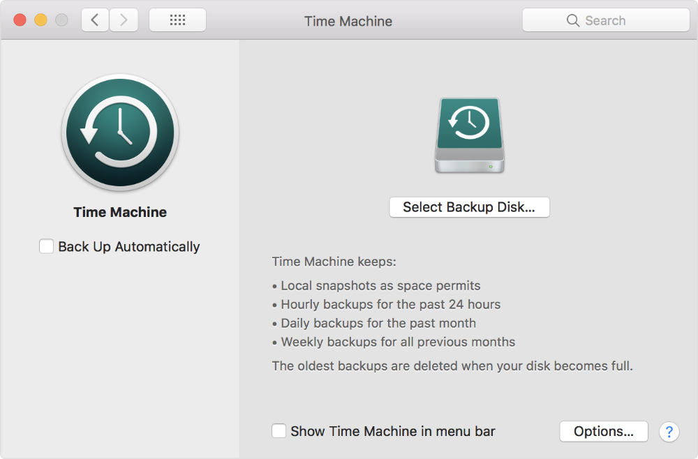 Back Up Your Mac With Time Machine Time Machine Backup Backup Apple Support