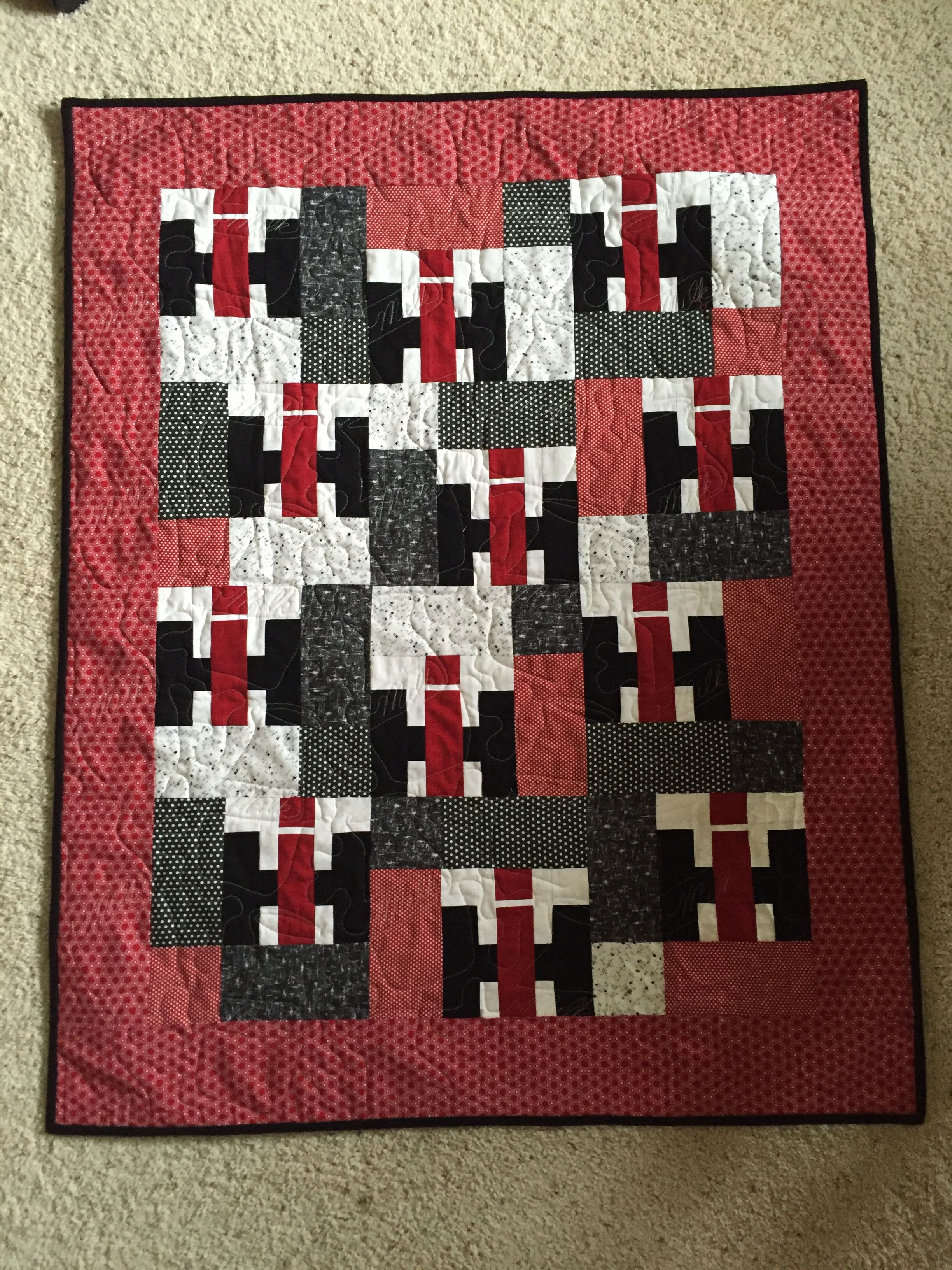Case Ih Baby Quilt Tractor Quilt Quilts Quilt Patterns