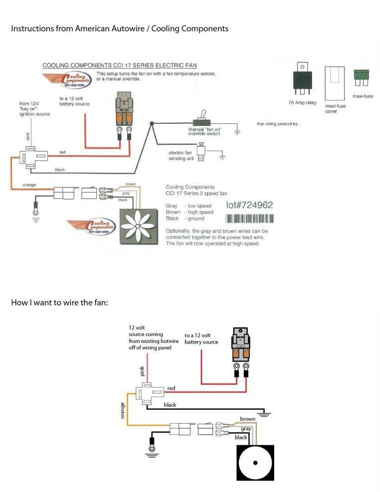 Fan Relay Wiring Diagram : relay, wiring, diagram, Beautiful, Kenworth, Engine, Wiring, Diagram, Kenworth,, Electric, Radiator, Trailer