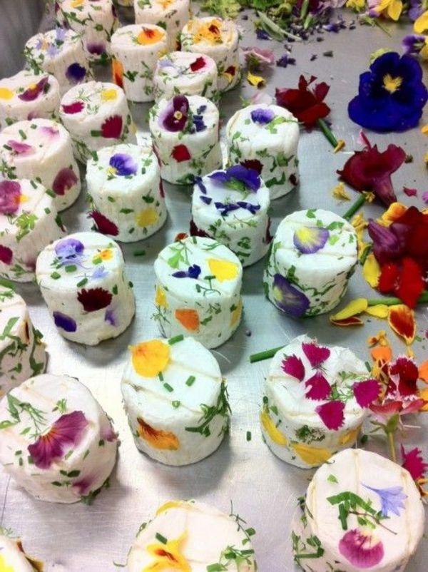 Les Fleurs Comestibles Eatable Flowers For Decorating Food