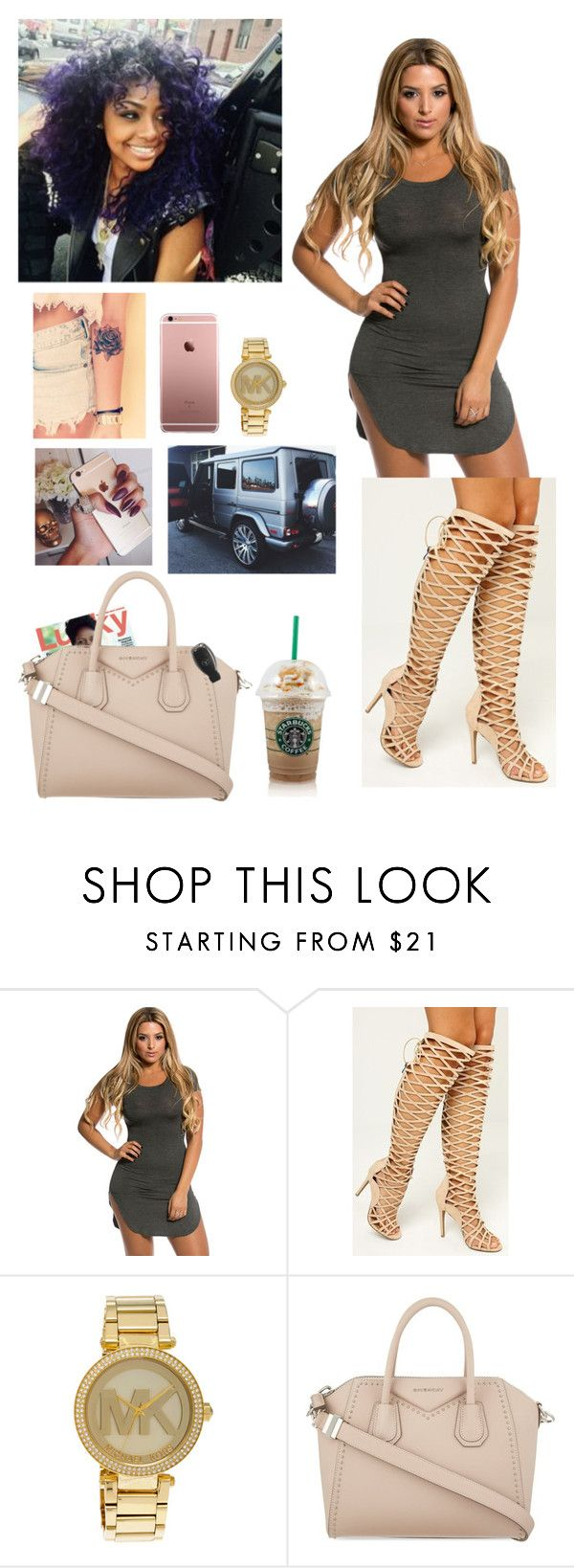 """""""Skye's the limit.;)"""" by anicolelauren ❤ liked on Polyvore featuring Michael Kors, Givenchy, women's clothing, women's fashion, women, female, woman, misses and juniors"""