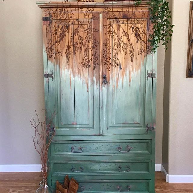 Photo of #Featured Old Soul Creative a wood burner?!?! Seriously so cool !! Thanks for the day,  #burn…