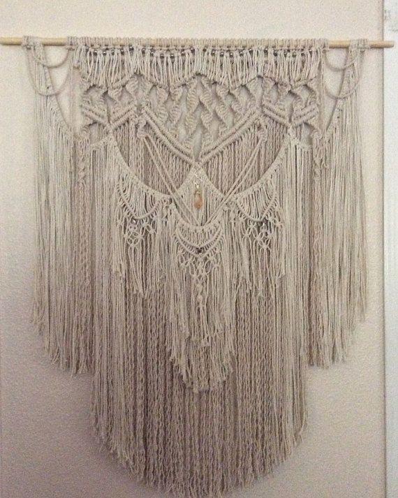 Large Macrame Wall Hanging Wall Tapestry Wall Hanging
