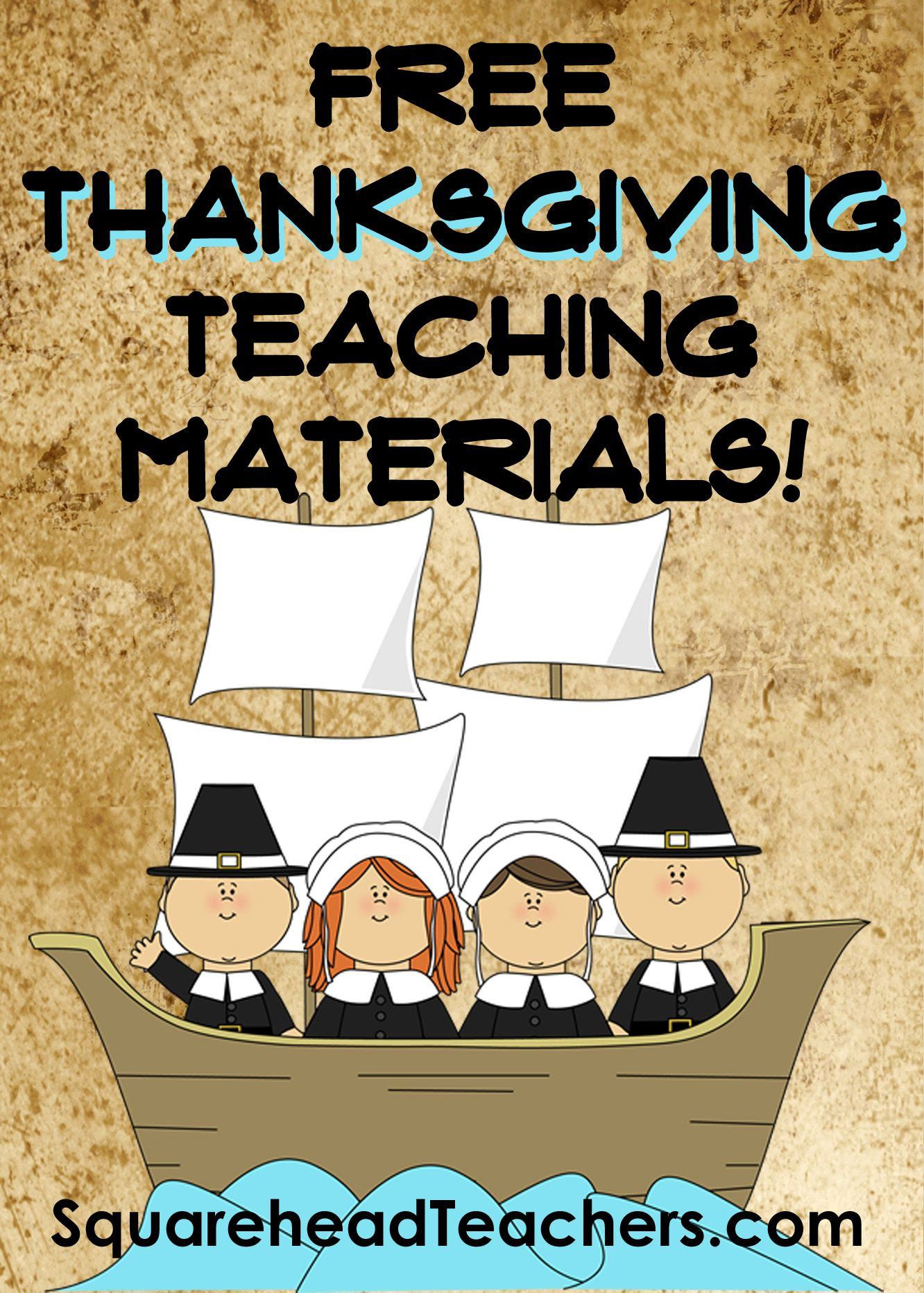 Squarehead Teachers Thanksgiving Activities And