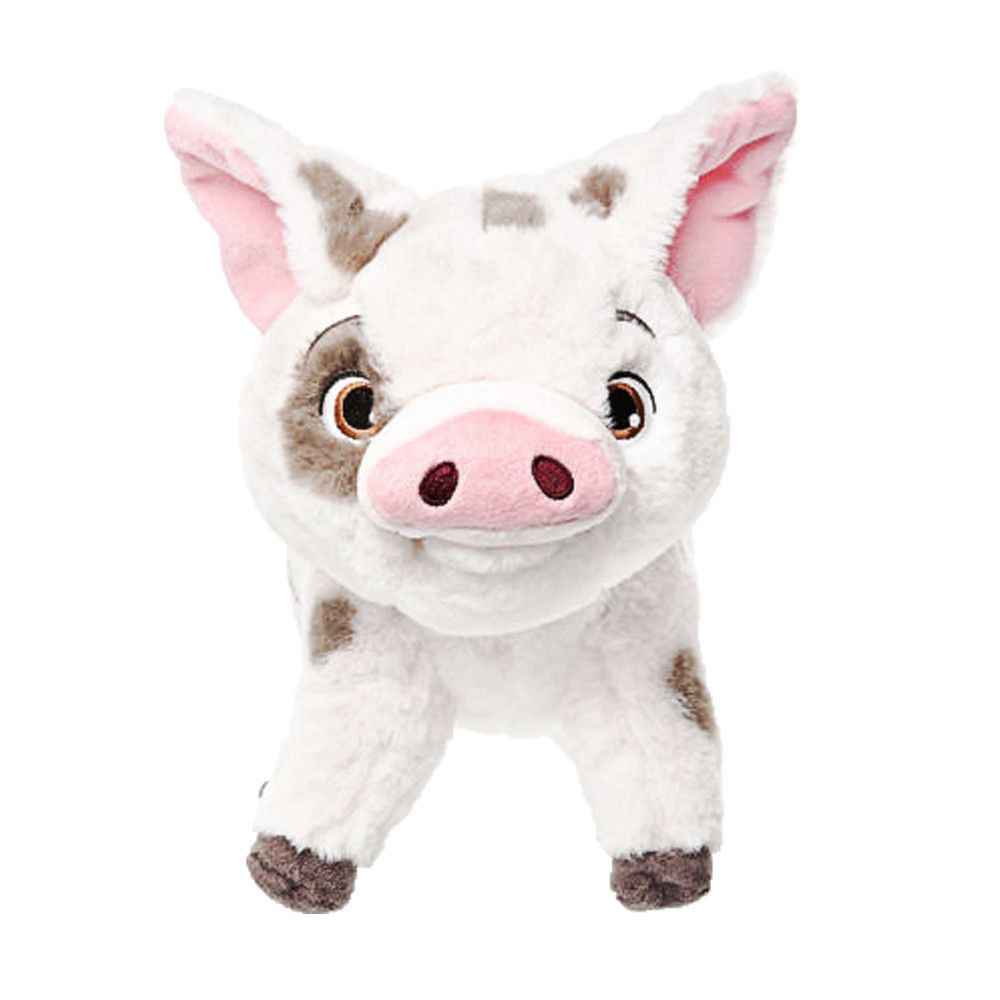 "NEW DISNEY Store PLUSH PUA Disney/'s MOANA Pet Pig LARGE 14/"" Huge Soft Toy"