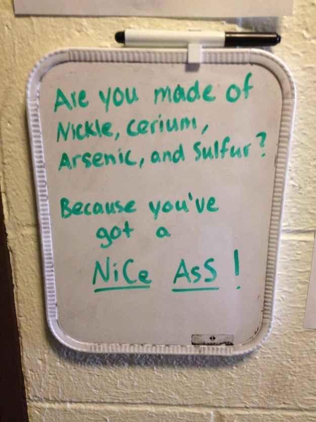 flirty chemistry jokes