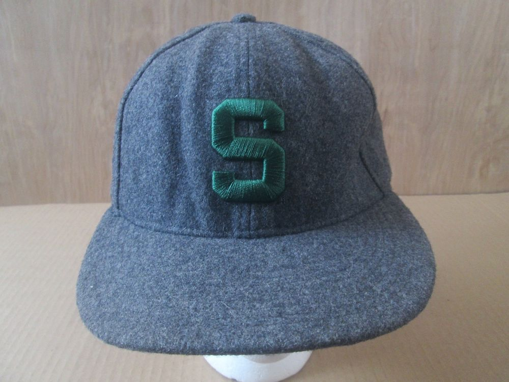 6614626431a Nike 643 MICHIGAN STATE SPARTANS Hat Fitted Adult Size 7 1 4 Gray Baseball  Cap  Nike  MichiganStateSpartans