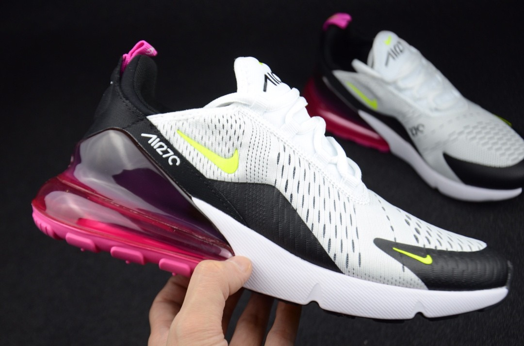Nike Air Max 270 Black Volt Fuchsia AH8050 109 in 2020