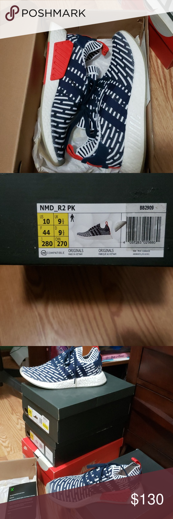 the latest 2f6c9 5cffe Adidas NMD R2 Mint Condition: Worn once 100% Authentic Price ...