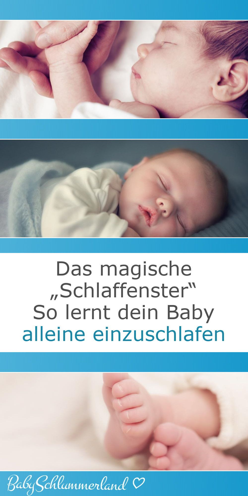 ♥ Wie dein Baby lernt, alleine einzuschlafen