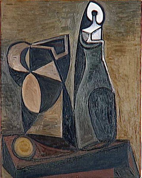 Nature morte à la bougie\' (1945) by Pablo Picasso | Nature morte ...