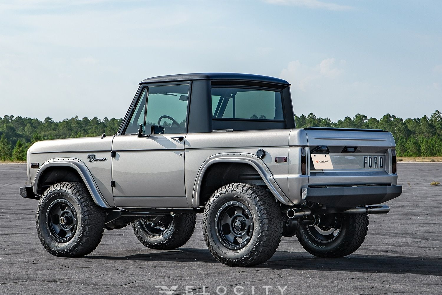 Restored 1967 Early Ford Bronco Half Cab Velocity