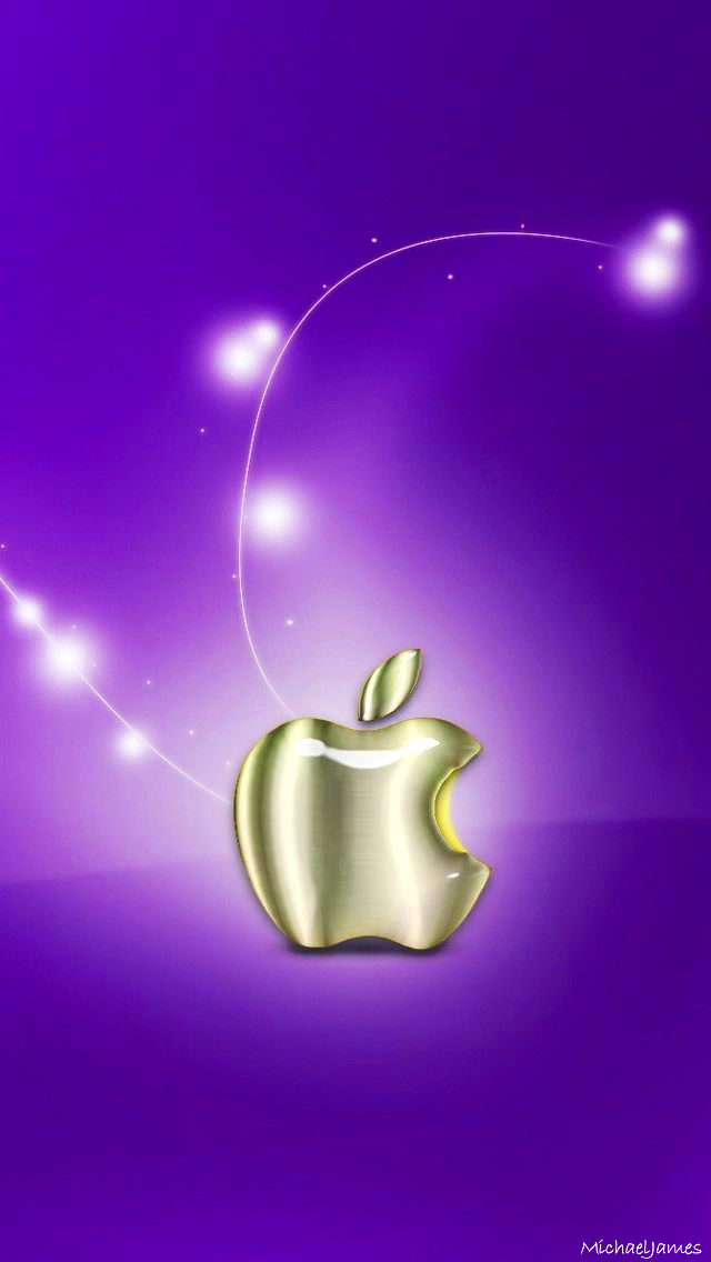 Golden Glass Apple Micromax A110 Canvas 2 Hd Wallpapers Available