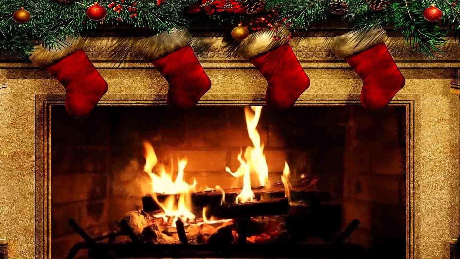 New Post christmas fireplace gif tumblr New