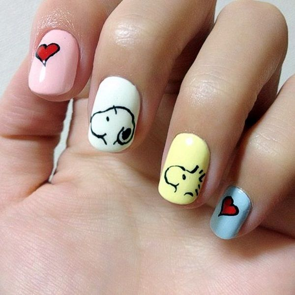 45 Cute Animal Nail Art Prints that\'re truly Inspirational   Animal ...