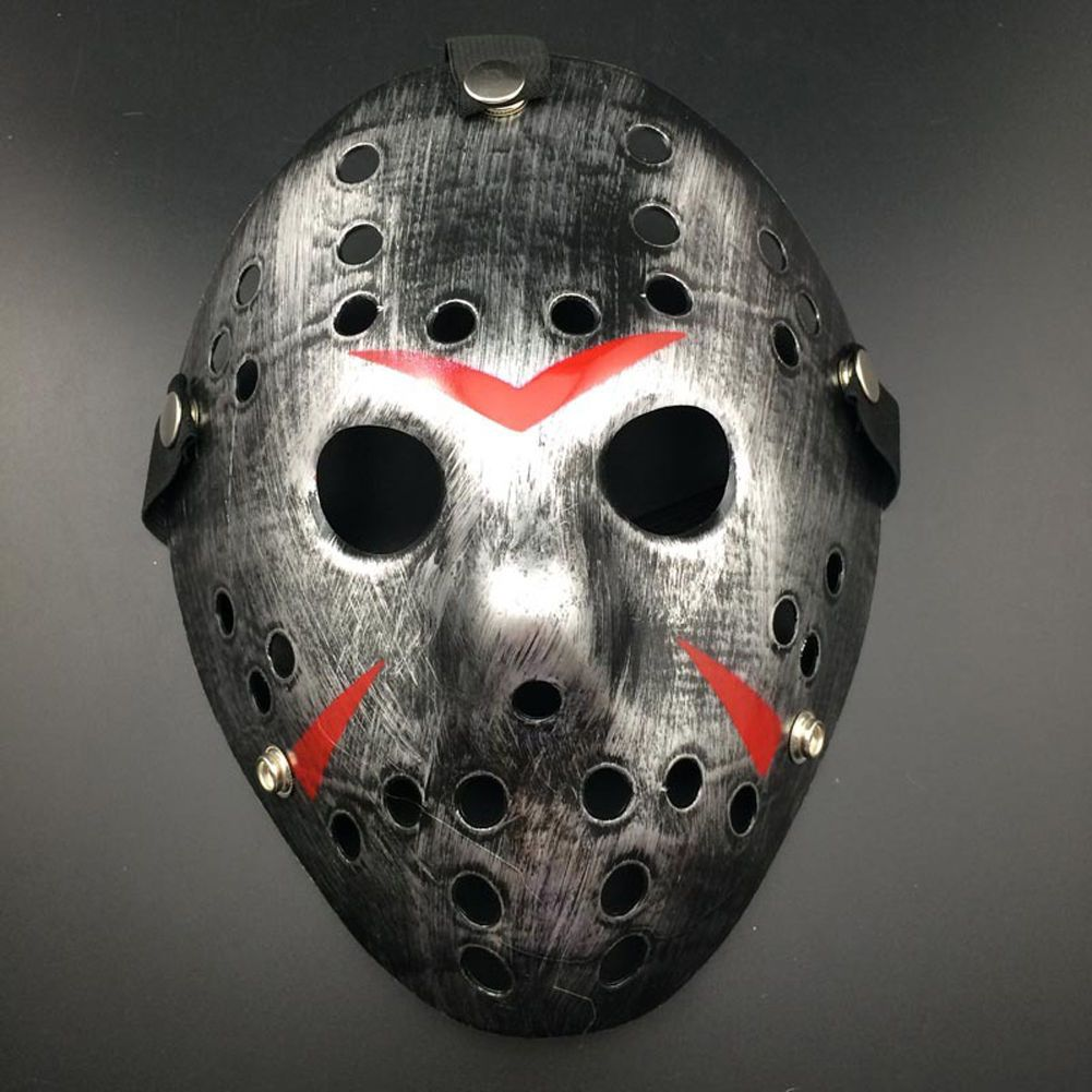 Multi Color Porous Mask Jason Voorhees Friday The 13th Horror Movie Hockey Mask Scary Halloween Masks Scary Mask Halloween Jason