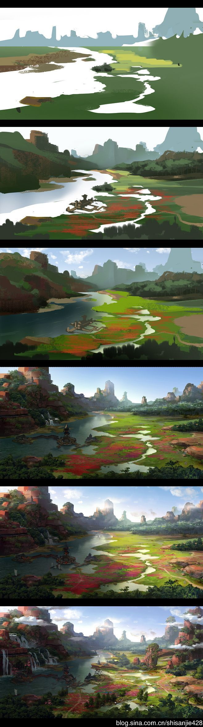 How to paint valley more artworks and tutorials httpswww how to paint valley more artworks and tutorials httpsfacebook paintings of landscapeslandscapes baditri Images