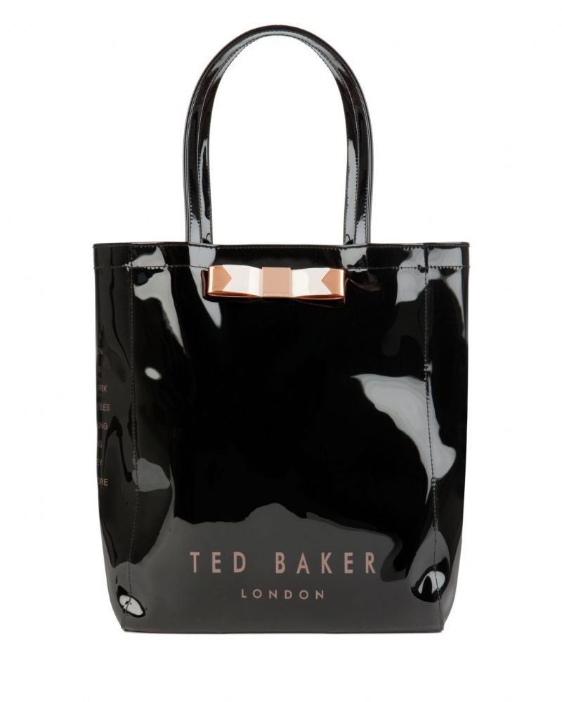 465a0e6b4a0dd Ted Baker Women s Emacon Plain Bow Icon Bag Black