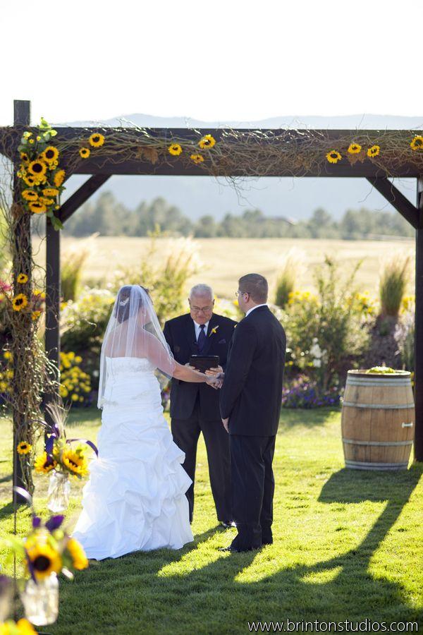 Rustic Sunflower Wedding Centerpieces Sunflowers Burlap