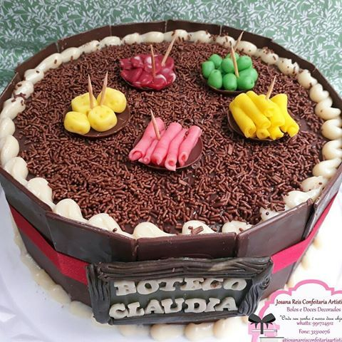 #festaboteco #boloboteco #bolobuteco #josanareisconfeitariaartistica #uberlândia
