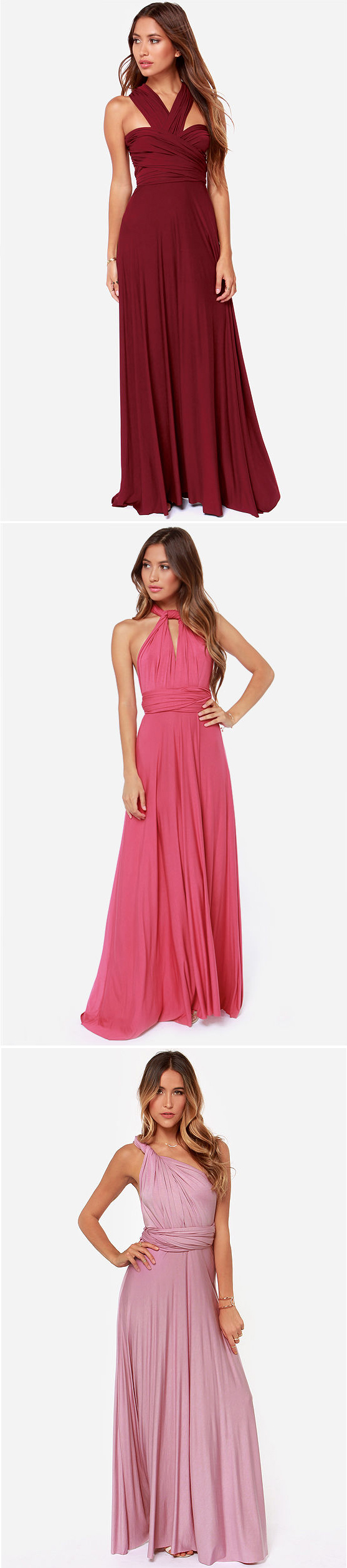 Fantastic convertible dress in lots of colors for only $68 ...