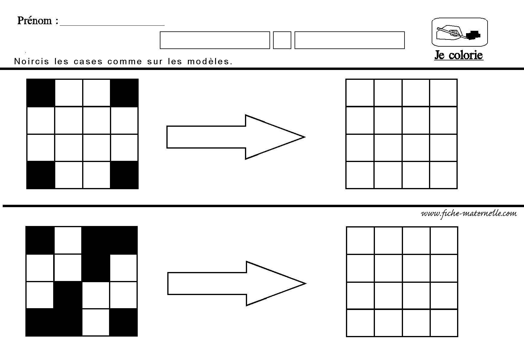 reproduire un quadrillage en ms gs et cp vers les maths topologie espace temps pinterest. Black Bedroom Furniture Sets. Home Design Ideas