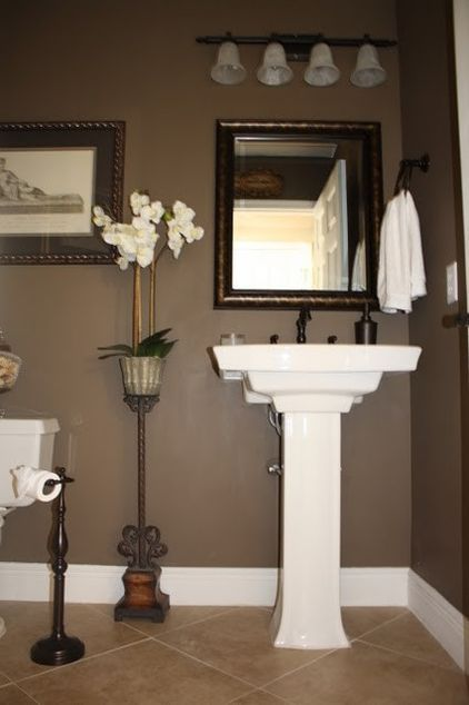 Wall Colour Paint Brown Exactly The Color I Want For My Restroom