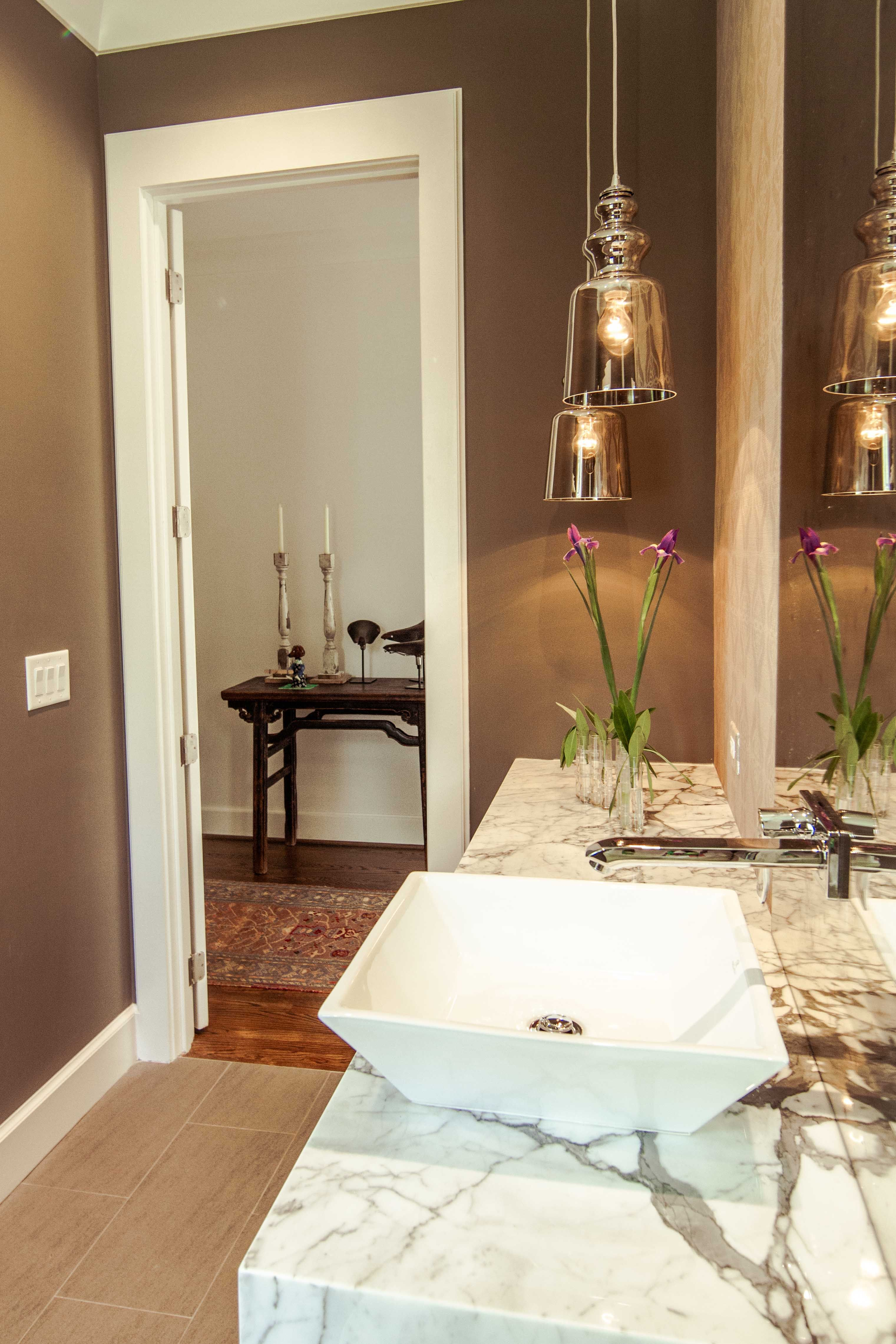 Hansgrohe Metris Wall-Mounted Faucet | bathroom | Pinterest | Wall ...