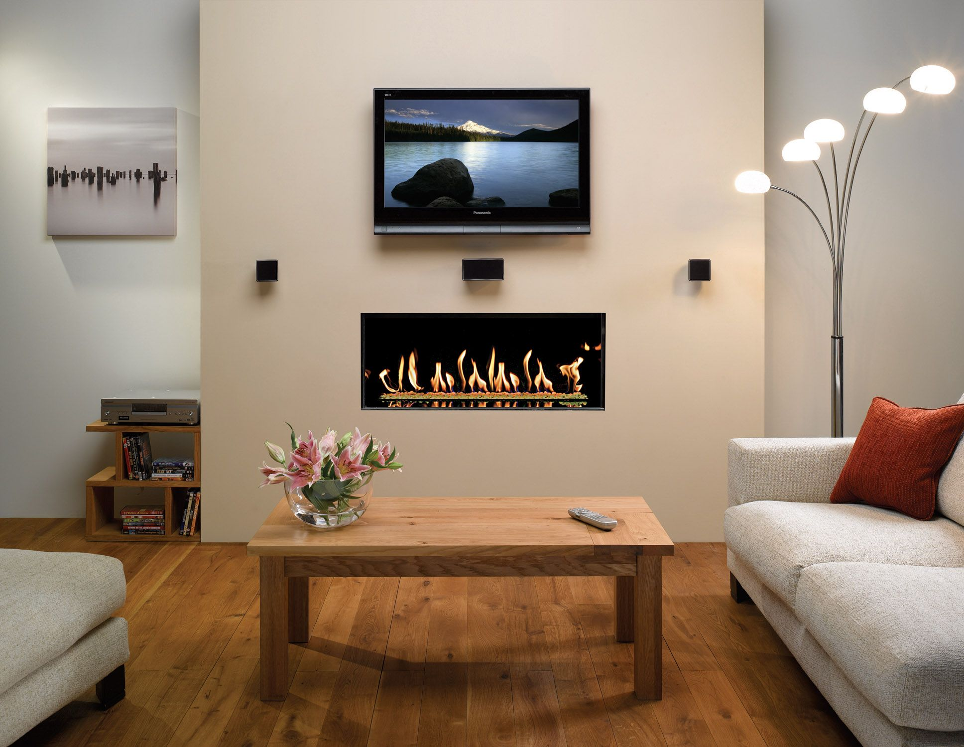 How To Make A False Chimney Breast To House A Tv And