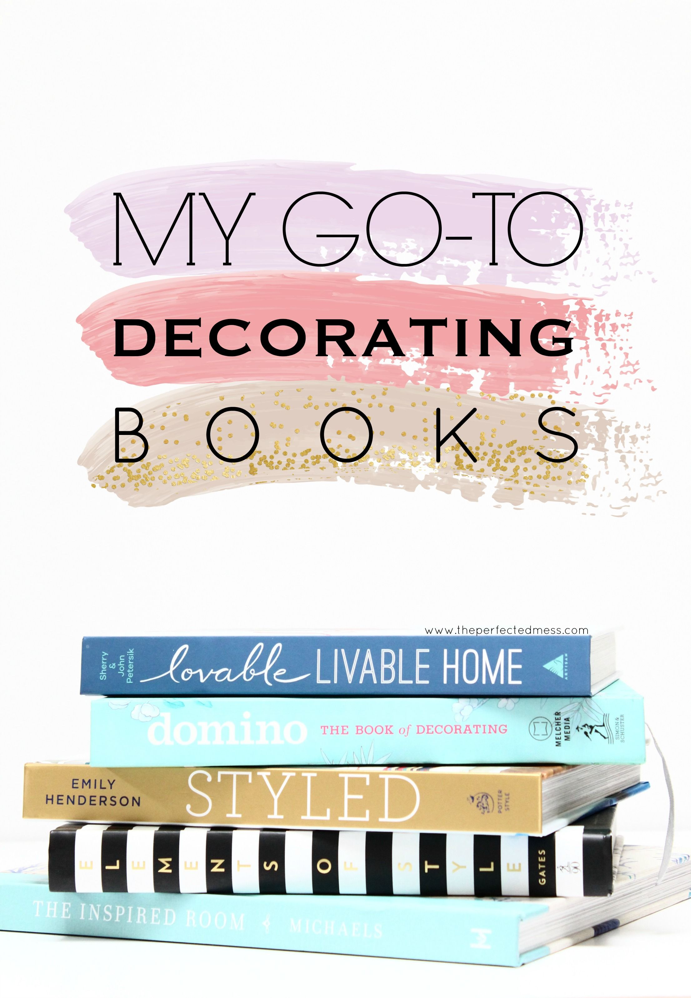 My Go To Decorating Book's (With images) Interior design