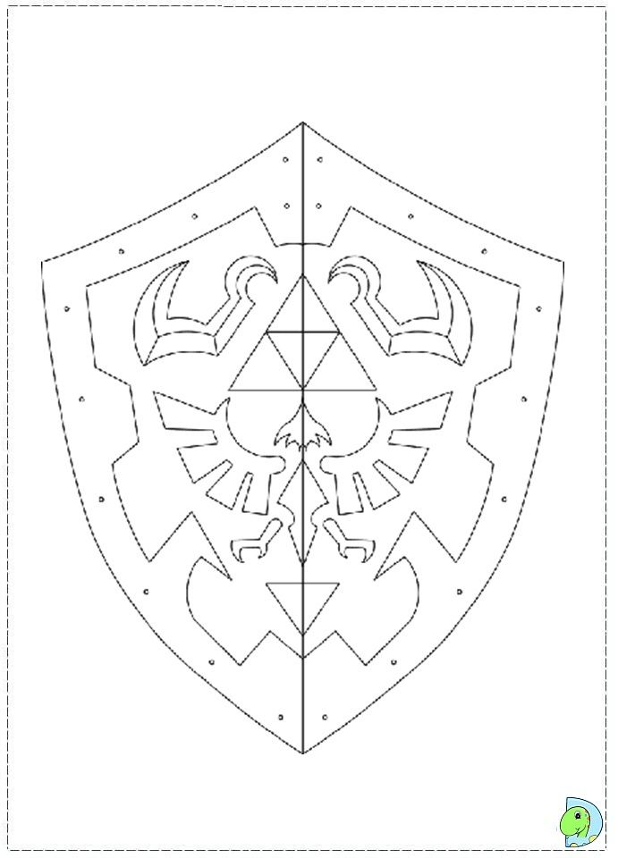 The Legend Of Zelda Coloring Page Zelda Gifts Zelda Diy Zelda Birthday