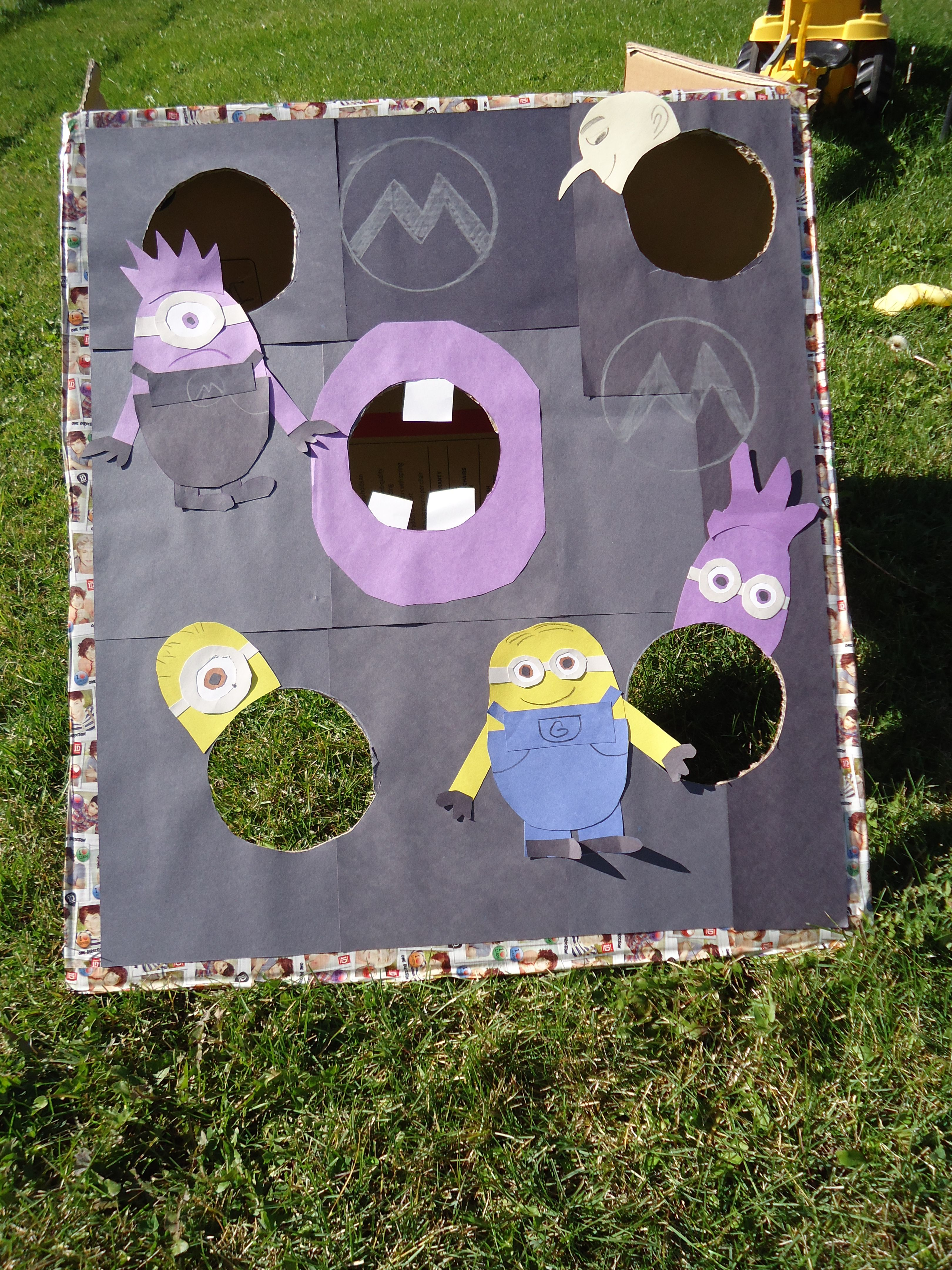 Miraculous Minion Party Bean Bag Toss I Like This But Would Do All Inzonedesignstudio Interior Chair Design Inzonedesignstudiocom