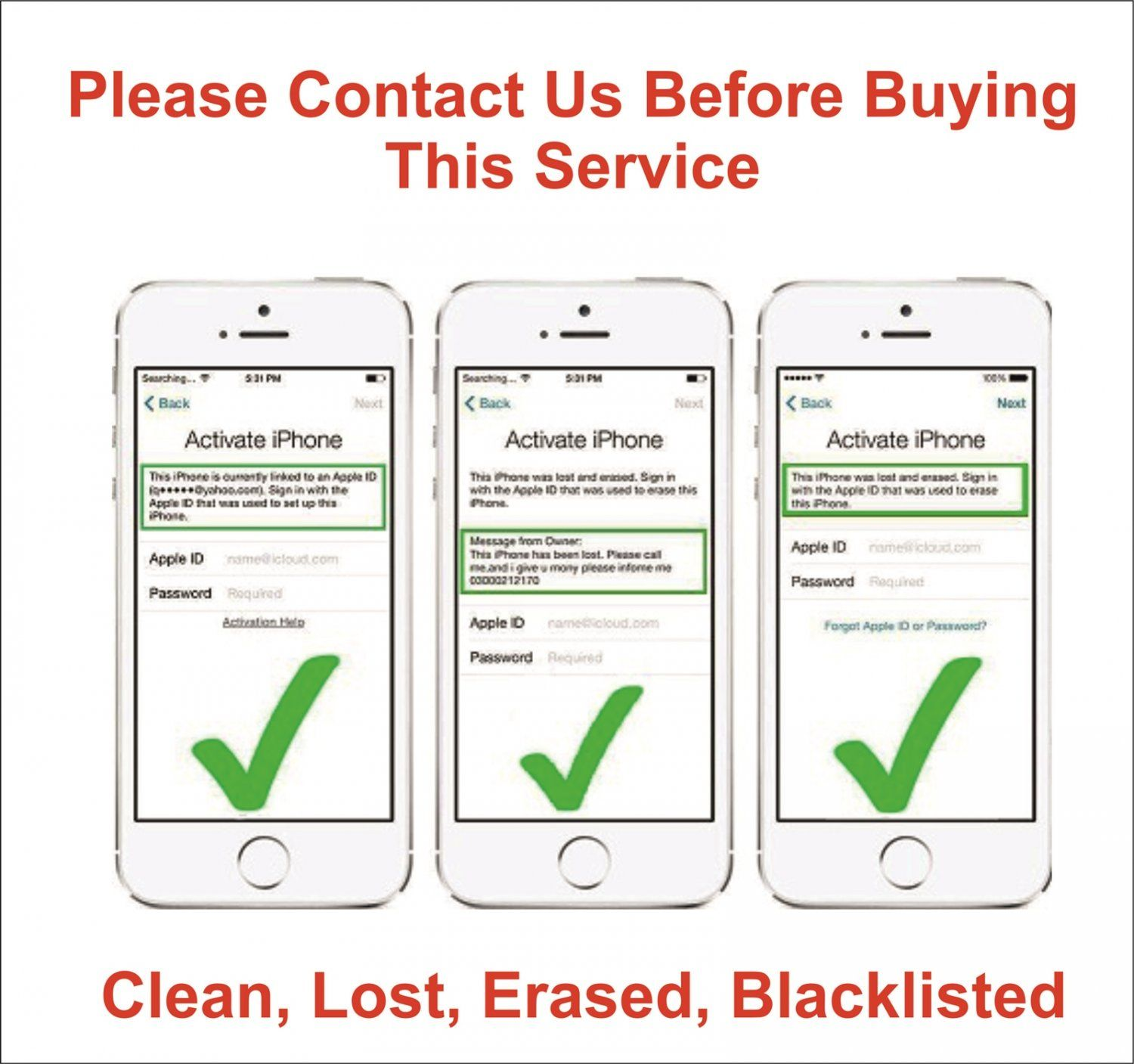 Icloud+Unlock+/+Removal+service +Clean,+Lost,+Erased,+Blacklisted