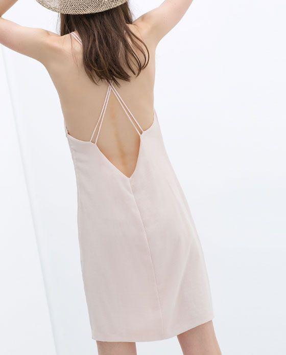 ZARA - TRF - STRAP DRESS