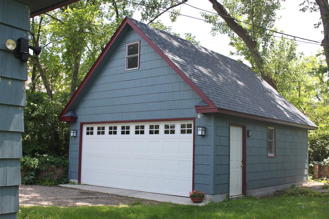 St Paul Garage Builders Mn Custom Garage Gallery Garage Design