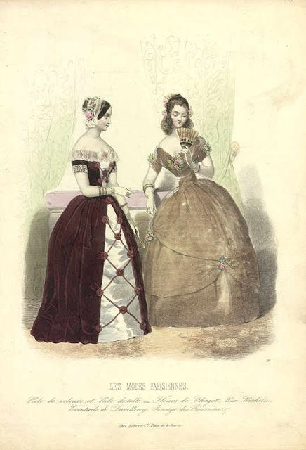 Pin On Fashion Plates 1840