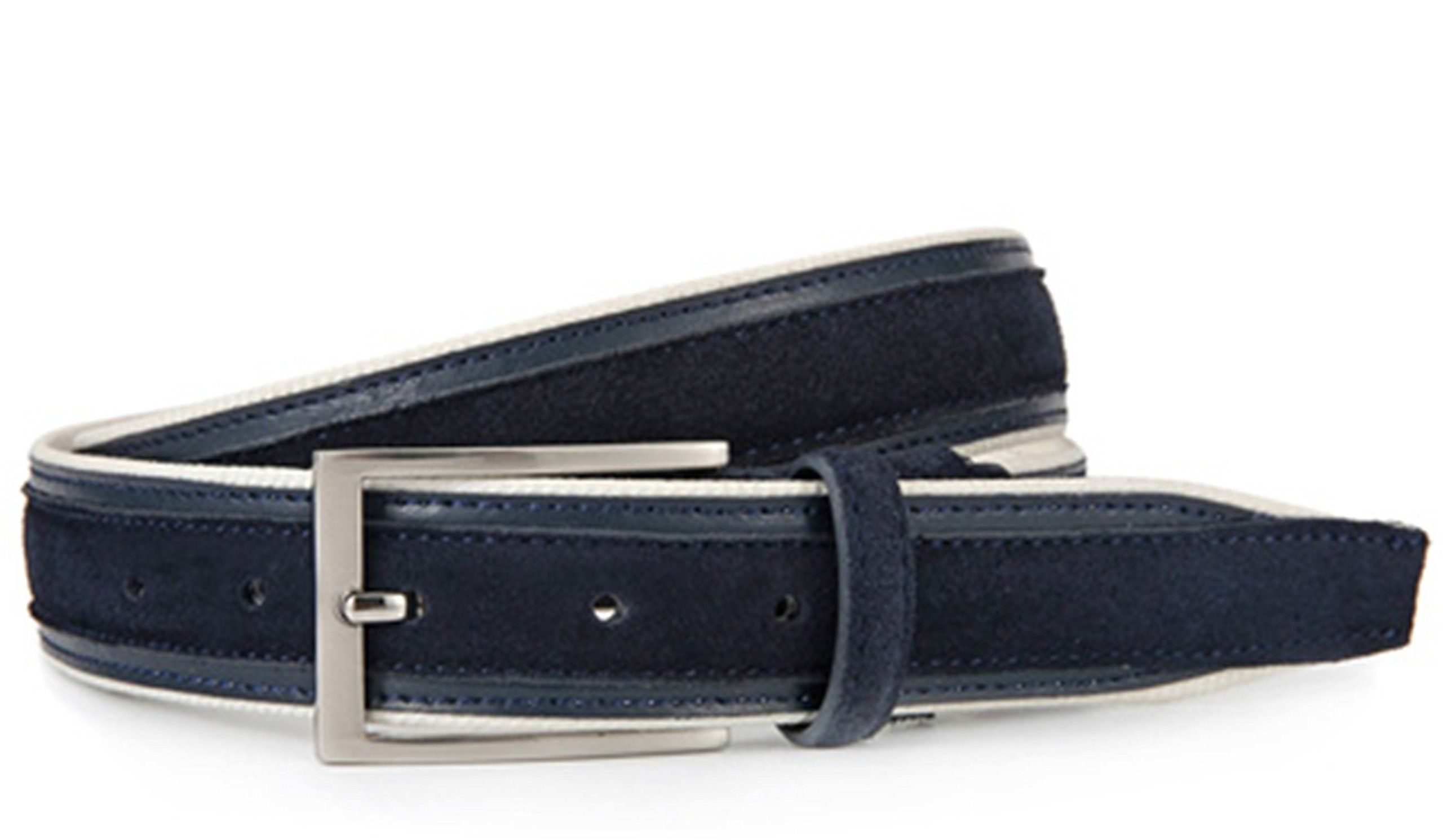 Eric Hug?Fashion Mens Belts Genuine Leather and Cotton