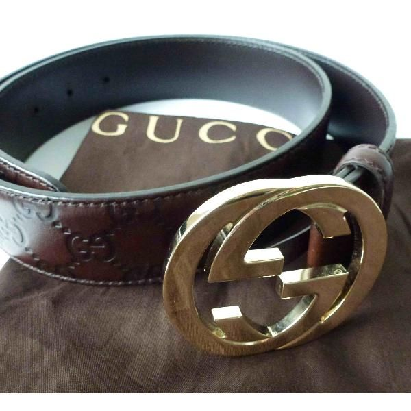6a11027f0a5 Tip  Gucci Belt (Dark Brown)
