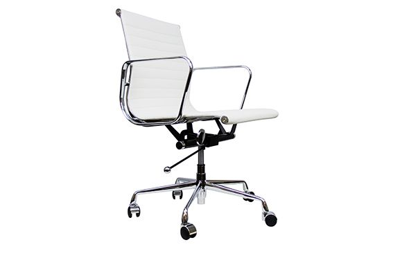 Eames Aluminum Management Chair Replica Egg With Stand Low Back Group