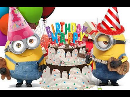 Bildergebnis Fur Minions Happy Birthday Images バースデーカード
